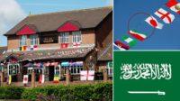 Les pubs britanniques ôtent le drapeau d'Arabie saoudite de leurs guirlandes pour la coupe du monde 2018: l'islam est incompatible avec l'alcool!