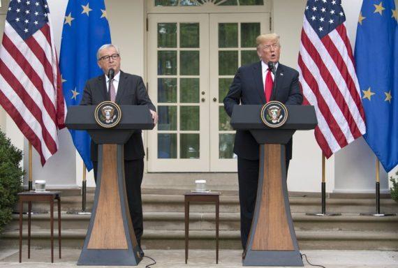 Accord Trump Juncker guerre commerciale