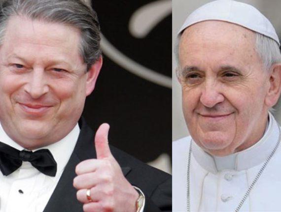 Al Gore VaticanNews pape Francois force morale changement climatique