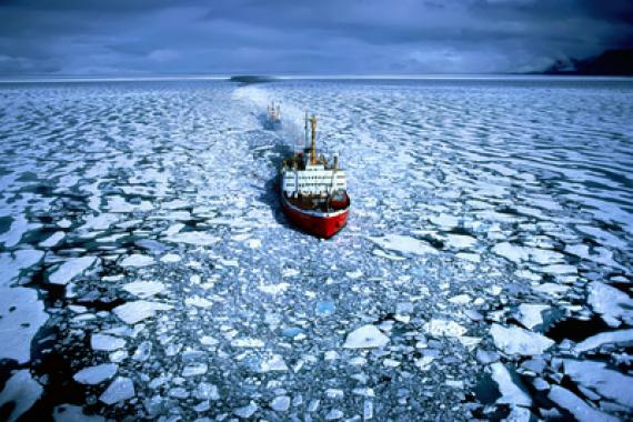 Chine Arctique Route polaire soie
