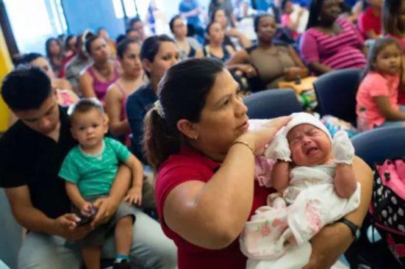 Clandestines régularisation femmes enceintes détenues Etats Unis