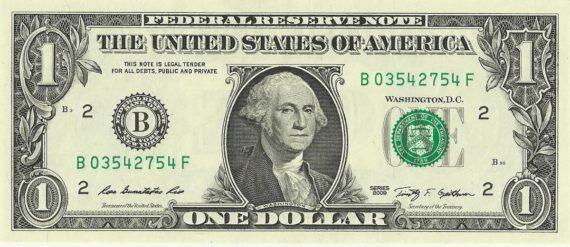 FMI niveau bas record 4 ans dollar américain
