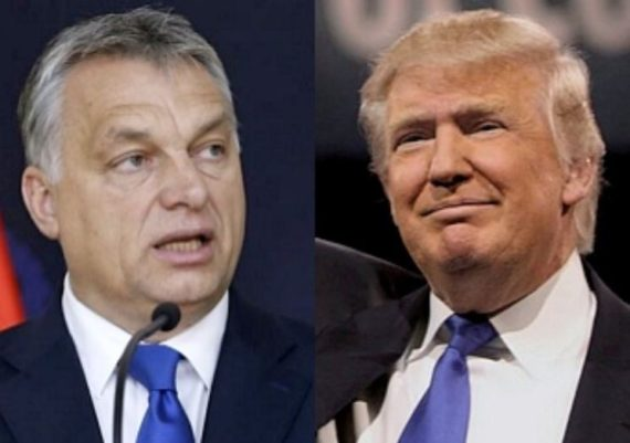 Hongrie Etats Unis Trump Orban
