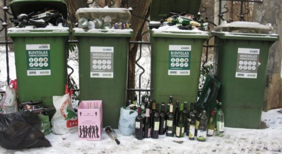 Recyclage déchets pollution