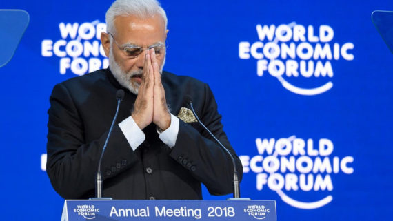 bouddhiste Inde globalisée Forum économique mondial