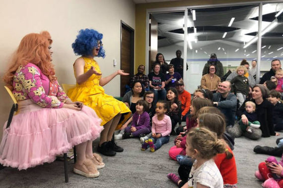 drag queens bibliothèques enfants idéologie