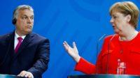 Angela Merkel et Viktor Orbán: deux conceptions de l'immigration et de la juste méthode pour agir humainement se sont affrontées jeudi à Berlin