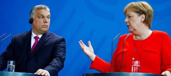 immigration Merkel Orban