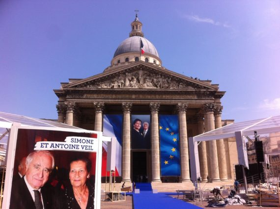 panthéonisation Simone Veil animée souci fragiles