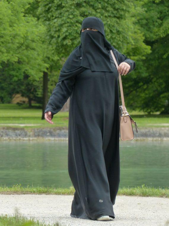 Boris Johnson burqa musulmanes européistes