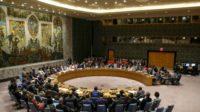 Le Conseil de sécurité des Nations Unies se réunit pour discuter de la situation des Rohingyas en Birmanie, au siège de l'ONU, à New York, le 28 août 2018
