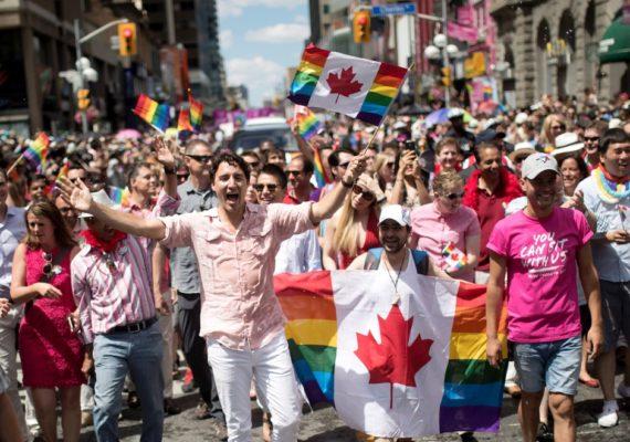 Justin Trudeau Canada acceptation homosexualite tolerance