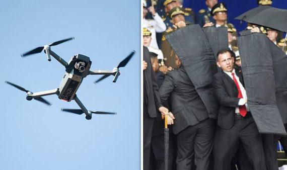 Maduro attentat drones