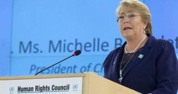 Michelle Bachelet Droits Homme ONU socialiste