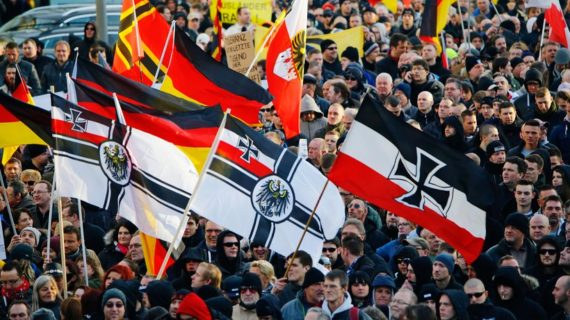 Ratonnades Extrême Droite Weimar Allemagne Vote Salvini