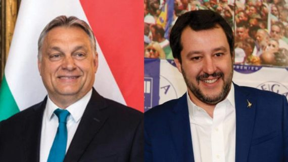 Salvini Orbán immigration