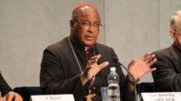 """Le cardinal Wilfrid Napier relie le scandale des agressions sexuelles dans l'Eglise à l'""""activité homosexuelle"""""""