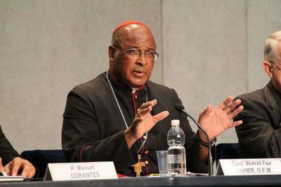 cardinal Wilfrid Napier scandale agressions sexuelles Eglise activité homosexuelle