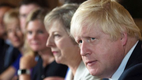 Brexit Boris Johnson Chequers Theresa May
