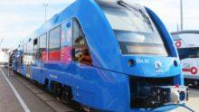 Coradia iLint d'Alstom: en Basse-Saxe, un nouveau train hydrogène-électricité au service des «petites lignes»