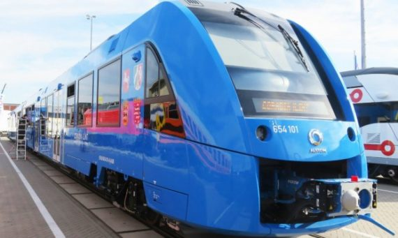 Coradia iLint Alstom Basse Saxe train hydrogène électricité petites lignes