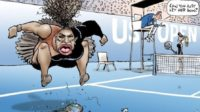 Tennis et totalitarisme : a-t-on le droit de caricaturer Serena Williams ?