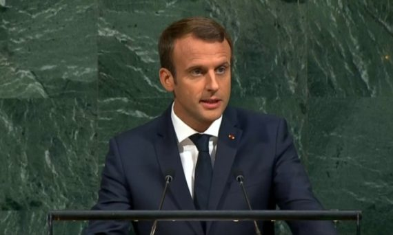 Macron ONU Multilatéralisme Mondialiste Empire Bien Trump Mal National