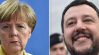 Merkel flinguée par Salvini: Chemnitz fera-t-il exploser l'Europe?