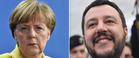 Merkel Salvini Chemnitz exploser Europe