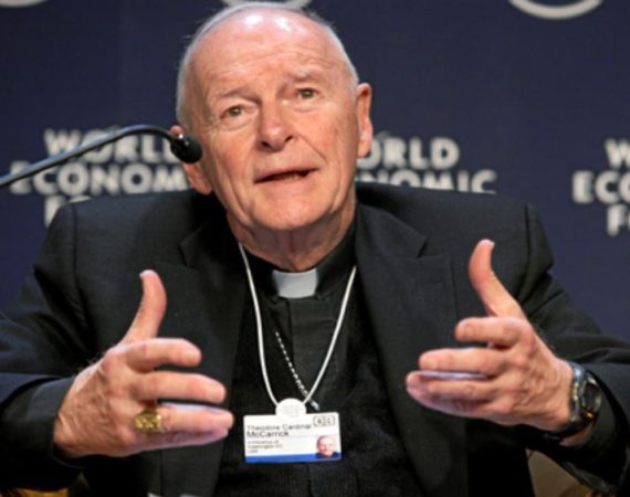 cardinal McCarrick membre CSIS mondialiste Center Strategic International Studies