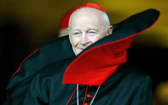 cardinal McCarrick role premier plan négociations Chine communiste