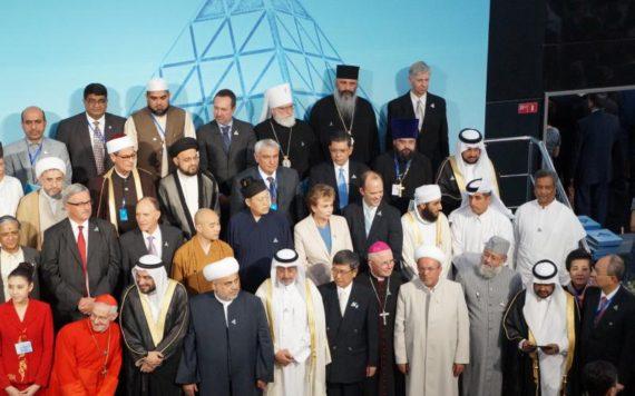 6e congrès responsables religions mondiales traditionnelles Astana Kazakhstan mondialisme