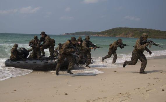 Chine ASEAN exercice militaire paix