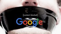 "Google prend le parti de la censure, en Occident comme en Chine, confirme le document interne ""The Good Censor"""