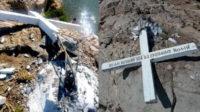 A Lesbos, une grande croix chrétienne détruite après qu'une ONG pro-migrant a demandé l'enlèvement de «l'outil pour apprentis Croisés»