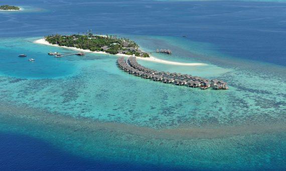 Réchauffement climatique atolls îles basses