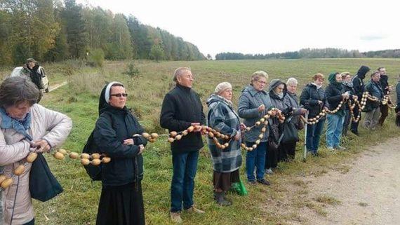 Rosaire aux frontières Etats Unis