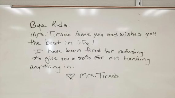 enseignante americaine licenciee avoir mis zeros 2