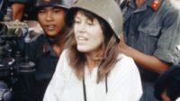 La phrase «J'emporterai dans ma tombe le regret d'avoir posé pour la photo Hanoy Jane.»
