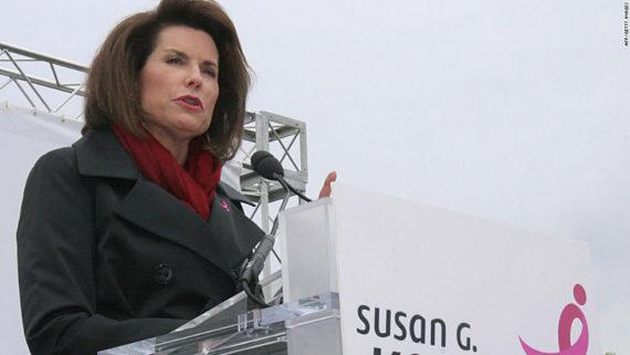 progressiste Nancy Brinker ambassadeur ONU