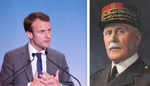 Polémique Pétain Macron Pouvoir Totalitaire