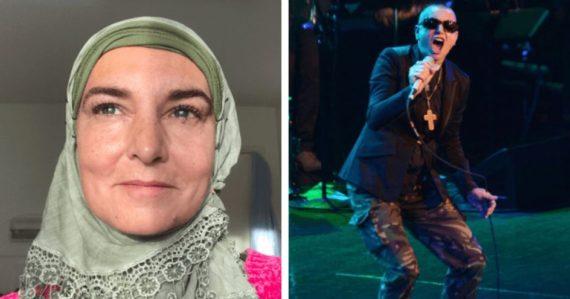 Sinead OConnor Chanteuse Convertie Islam Hait Blancs