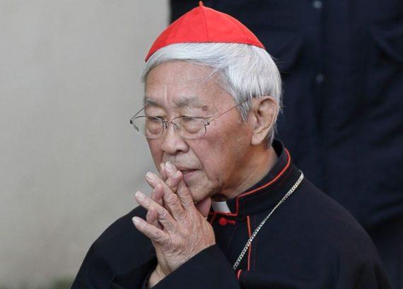 cardinal Zen pretres chinois Rome
