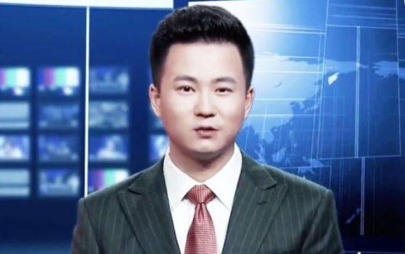 premiers robots présentateurs JT chinois