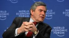 Gordon Brown, envoyé spécial de l'ONU, prône le gouvernement global face au coronavirus, ennemi invisible de l'humanité