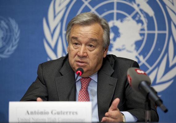 Antonio Guterres présente le rapport de l'ONU qui réclame des solutions «globales» contre le coronavirus en vue du «rebirthing» de la société